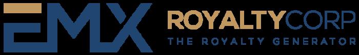 Logo von Emx Royalty Corp groß