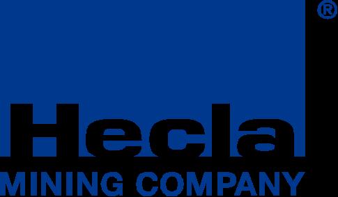 Logo von Hecla mining 2