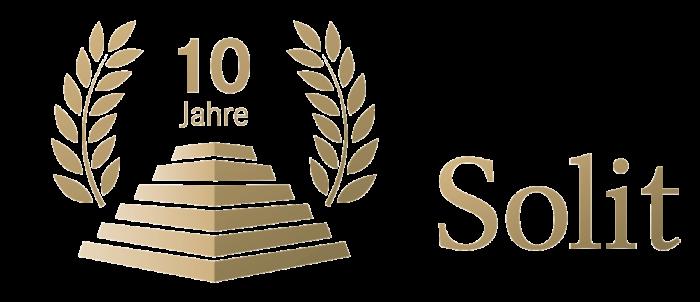 Logo von Solit 10 Jahre groß
